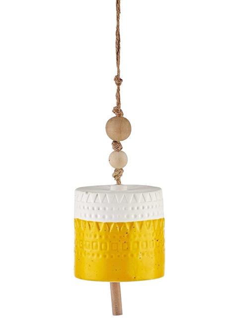 The Mia Dekor - Çan 11 Cm Sarı Sarı